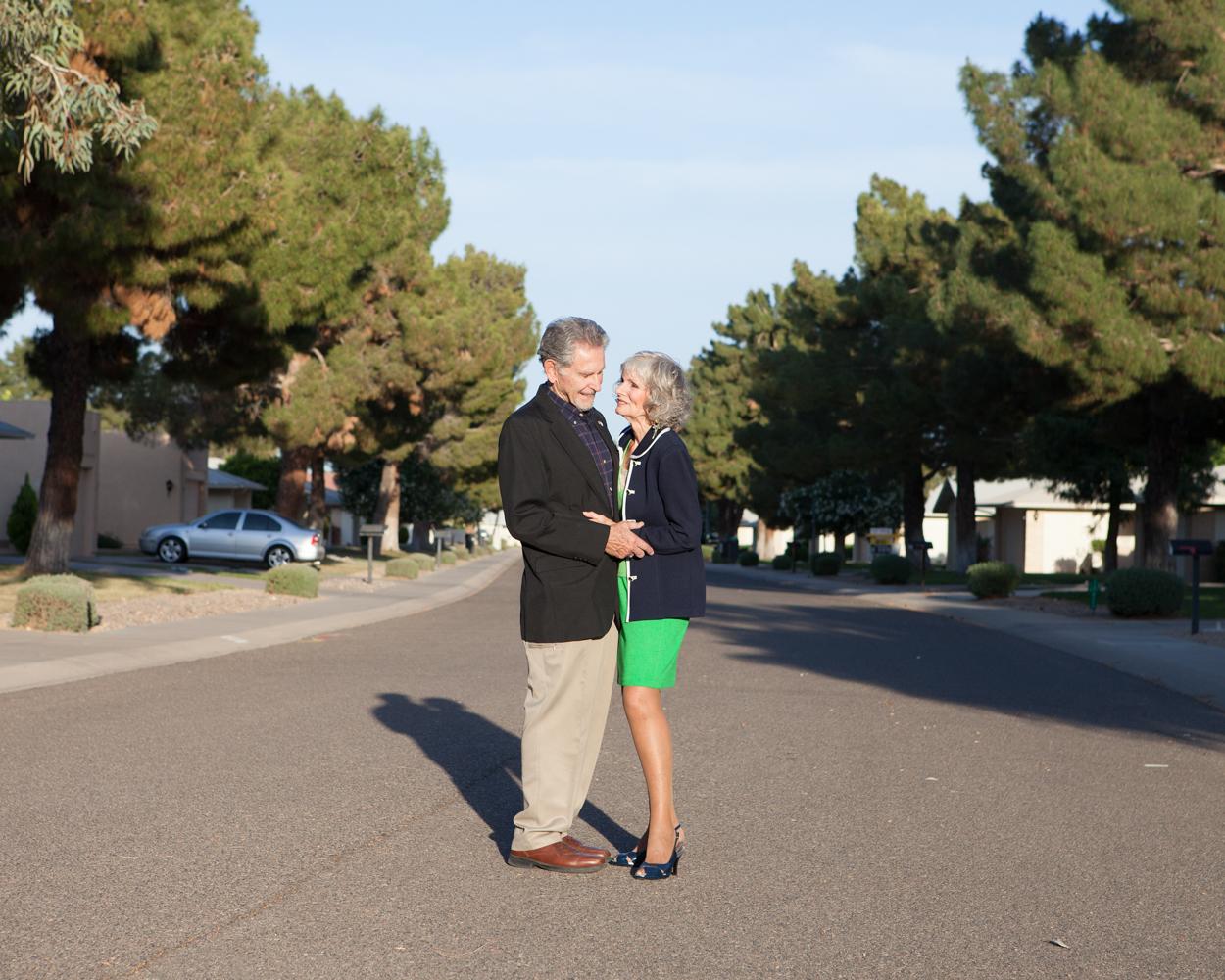 Bill Cram (80 ans) et Diane Shapiro (75 ans), Sun City West